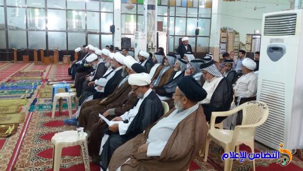 مدرسة العلوم الدينية في الناصرية تحيي الذكرى الـ39 لشهادة السيد محمد باقر الصدر