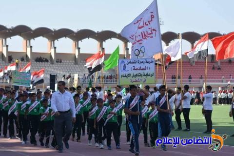 مدرسة التضامن للأيتام في الشطرة تشارك في مهرجان ألعاب القوى وتحرز المركز الثاني