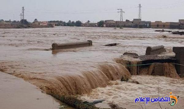 جمعية التضامن الاسلامي في ذي قار : تطـلق حملة لجمع التبرعات لمناطق تحت خـطر السيول والفيضانات