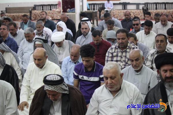 تقرير (صوتي –مصور) عن إقامة صـلاة الجمعة في مسجد الشيخ عباس الكبير في الناصرية