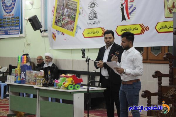 جمعية التضامن الإسلامي تبدأ برنامجها الرمضاني السنوي في جامع الشيخ عباس الكبير