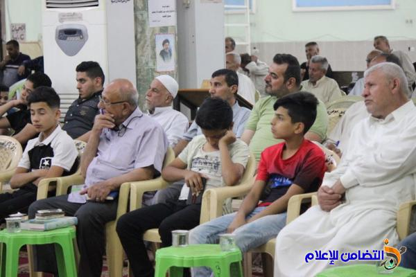 اليوم الخامس من البرنامج الرمضاني السنوي لجمعية التضامن الإسلامي - صوتي مصور-