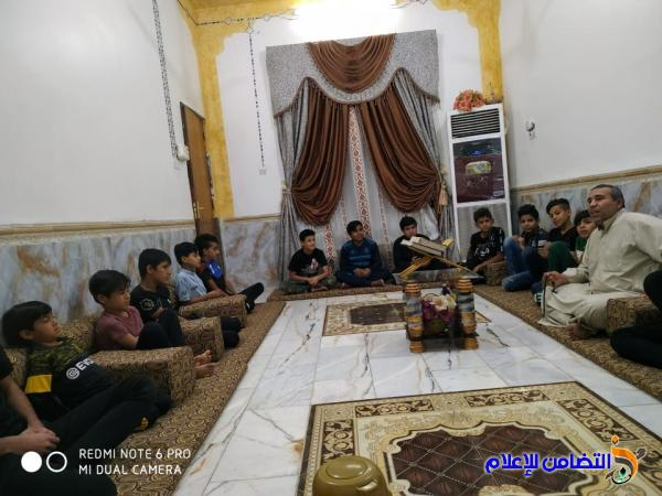بالصور.. مبرة التضامن للأيتام في الإصلاح تواصل برنامج الختمة القرآنية الرمضانیة