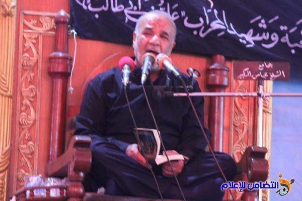 جمعية التضامن الاسلامي  تحيي ليلة ذكرى شهادة أمير المؤمنين (ع)  (صوتي- مصور)