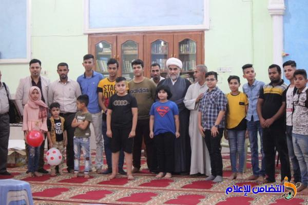 جمعية التضامن الإسلامي في ذي قار تختتم برنامجها الرمضاني السنوي