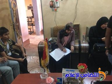 وفد من كلية العلوم يزور مبرة التضامن الأولى للأيتام في الناصرية