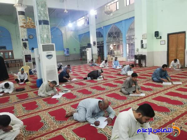 مدرسة العلوم الدينية في الناصرية تجري الامتحانات النهائية لطلبتها