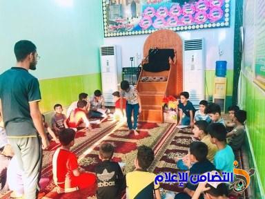 بالصور: منطقة الشموخ تحتضن إحدى دورات مدارس الإمام الصادق الصيفية