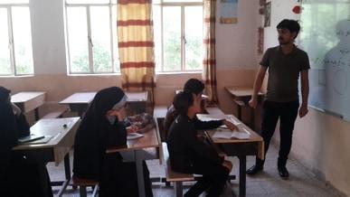 بالصور.. تواصل إقامة دورات التقوية لتلاميذ مبرة التضامن للأيتام في المنار