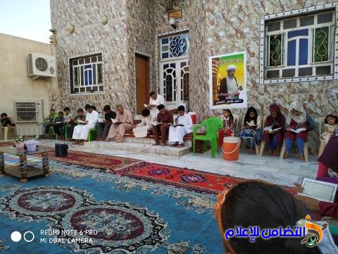 مبرات التضامن للأيتام تحيي الذكرى السنوية الثانية لرحيل الشيخ احمد الشويلي - مصور-