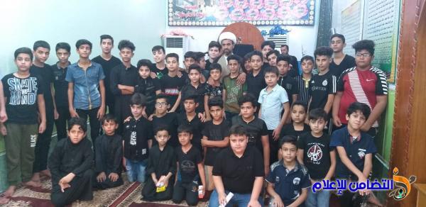 ذي قار: مدارس الإمام الصادق الصيفية تحيي ذكرى شهادة الإمام الجواد