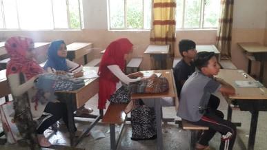 بالصور: مبرات التضامن للأيتام تواصل برنامجها التعليمي الصيفي خلال العطلة المدرسية