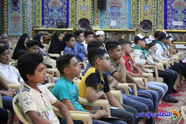 ذي قار: مدارس الإمام الصادق تحتفل بختام دوراتها الصيفية القرآنية - مصور-
