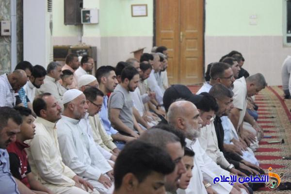 تقرير(صوتي -مصور) عن صلاة عيــد الأضحى المبارك في الناصرية