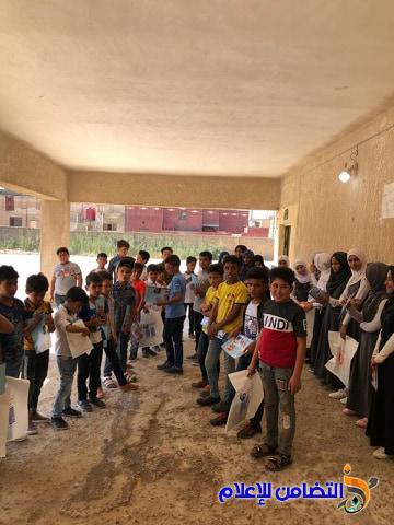 الرفاعي: التضامن السابعة للأيتام توزع الهدايا على تلاميذها ضمن برنامجها الصيفي