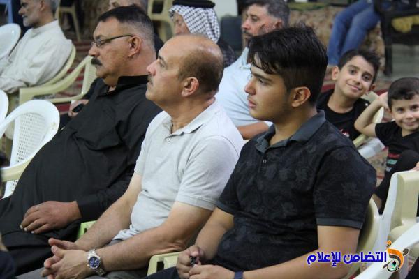مجلس الليلة الثالثة من شهر محرم الحرام في مسجد الشيخ عباس بالناصرية (صوتي- مصور)