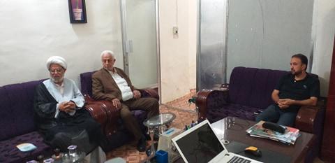 المشرف العام لمدارس التضامن للأيتام يستقبل مدير قسم تربية الرفاعي
