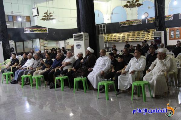 الليلة الرابعة من مجلس العزاء السنوي في مسجد الشيخ عباس بالناصرية (صوتي- مصور)