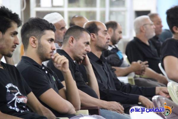 مجلس الليلة الخامسة من محرم الحرام في مسجد الشيخ عباس الكبير (صوتي- مصور)