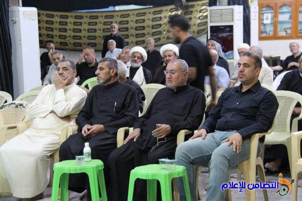 مجلس الليلة السادسة من شهر محرم في مسجد الشيخ عباس الكبير ( صوتي- مصور)