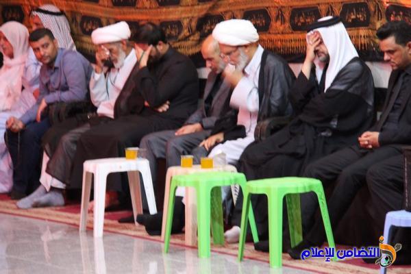 إحياء الليلة السابعة من شهر محرم الحرام في مسجد الشيخ عباس الكبير ( صوتي- مصور)