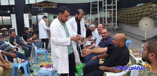 جمعية التضامن الإسلامي في الناصرية تقيم حملتها العاشورائية السنوية للتبرع بالدم 
