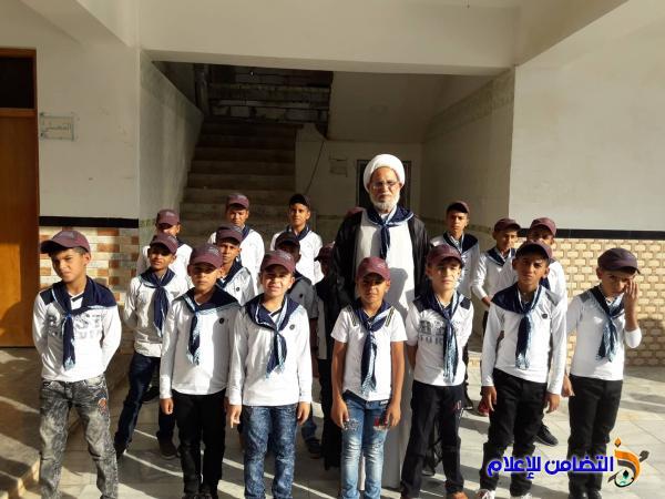 الشيخ محمد مهدي الناصري يبـارك للكوادر التعليمية والتدريسية في مبرات التضامن للأيتام بدء العام الدراسي الجديد