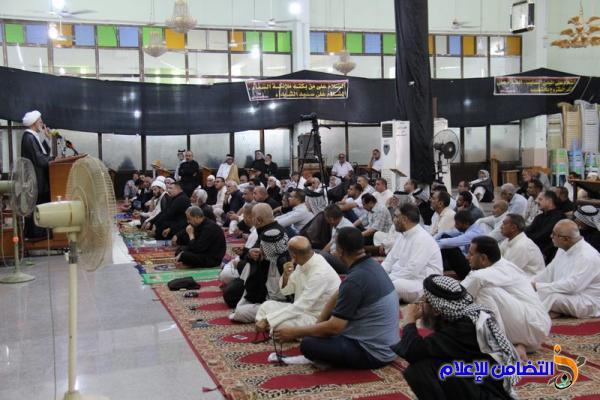 تقرير(مصور) عن صلاة الجمعــة بجامع الشيخ عباس الكبير وسط الناصرية