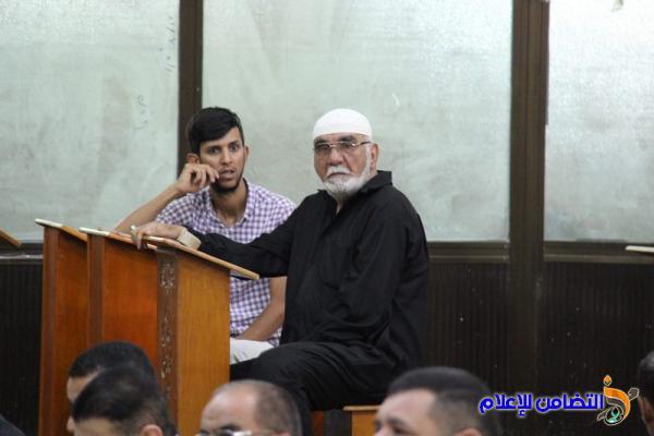 تقرير(مصور- صوتي) عن صلاة الجمعــة بجامع الشيخ عباس الكبير وسط الناصرية
