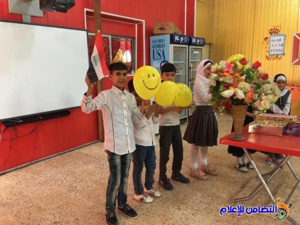 وفـد من كلية العلوم الصرفة بجامعة ذي قار يزور مبرة التضامن الأولى لرعاية الأيتام في الناصرية