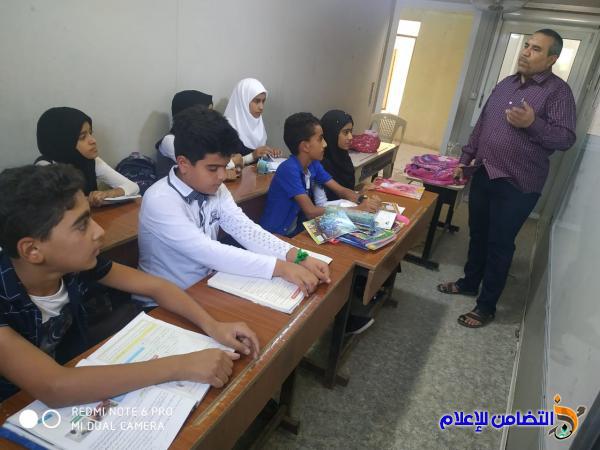 مبرة التضامن الثامنة للأيتام في الإصلاح تشهد مجموعة من الأنشطة المدرسية والتطوعية