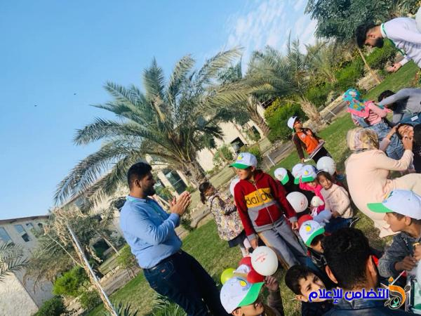 منظمة التضامن للأيتام في النجف تنظم سفرة علمية وترفيهية لأيتامها