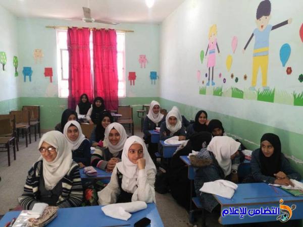 لمحة عن النظام [التعليمي] في مبرات التضامن لرعاية الأيتام بمحافظة ذي قار