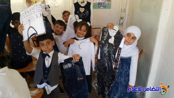 نبذة عن برنامج الكسوة المدرسية المجانية في مبرات التضامن لرعاية الأيتام