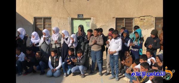 بالصور: تقديم عدد من العروض الترفيهية في مبرة التضامن السابعة للأيتام