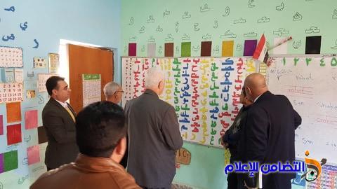 وفد مكتب مبرات التضامن للأيتام يجري زيارات تفقدية لفروع الشطرة والنصر والرفاعي