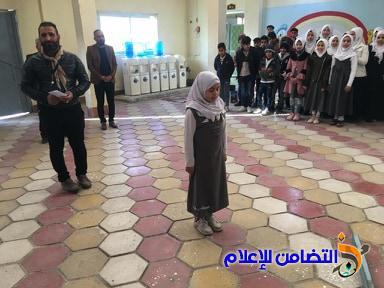 بالصور.. مراسيم رفع العلم في مبرة التضامن الأولى للأيتام في الناصرية