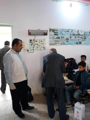 فريق من الصحة المدرسية يزور مبرة التضامن الرابعة للأيتام في سوق الشيوخ