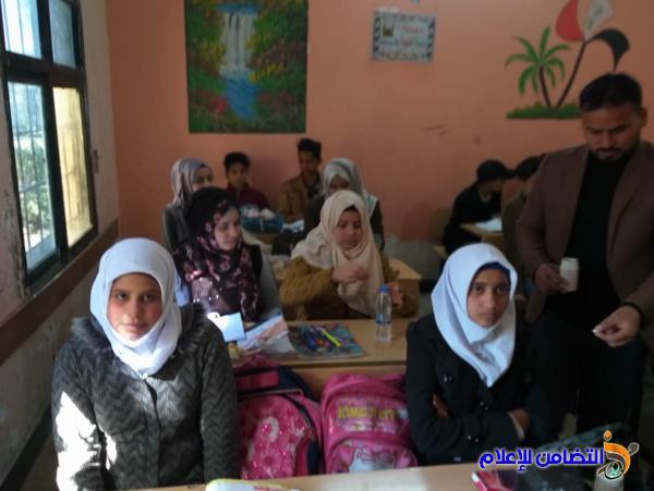 فريق صحي يزور مبرة التضامن الثالثة للأيتام في الجبايش