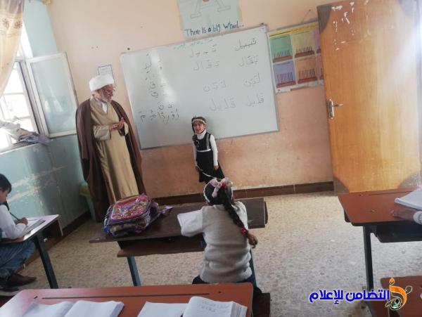 بالصور: المشرف العام لمبرات التضامن للأيتام يتفقد مبرتي الفهود والإصلاح