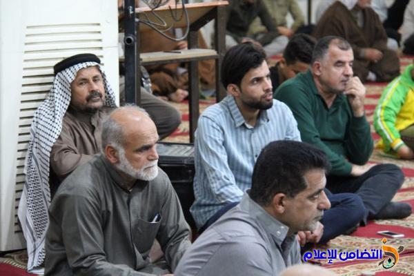 تقرير(صوتي -مصور) عن صلاة الجمعــة بجامع الشيخ عباس الكبير وسط الناصرية