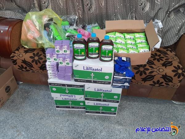 موكب حسيني يتبرع لأيتام مبرة التضامن في الشطرة بمجموعة من السلات الغذائية