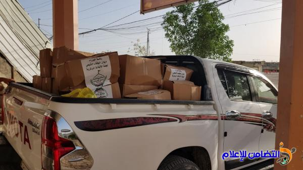 مكتب مبرات التضامن: قسم الخدمات يجهز مبرتي النصر وسوق الشيوخ بسلات غذائية لتوزيعها على الأيتام