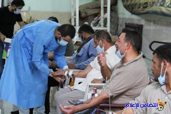 بالصور: مبرات التضامن للأيتام تنظم حملة تبرع بالدم لدعم المرضى الراقدين في المستشفيات