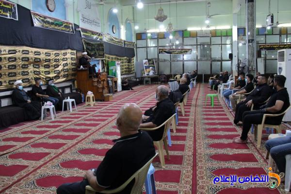 مجلس ليلة التاسع من محرم الحرام في مسجد الشيخ عباس الكبير بالناصرية (صوتي- مصور)