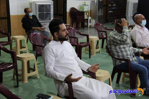 بالصور: اختتام المجلس الحسيني السنوي في مركز وحسينية الشيخ عباس الخويبراوي بالناصرية