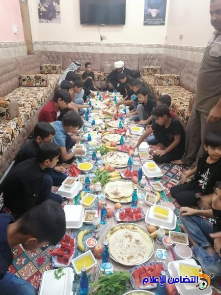 تلاميذ مبرة التضامن الرابعة للأيتام في سوق الشيوخ يحيون ذكرى وفاة النبي الأكرم(ص) [ تقرير مصور]