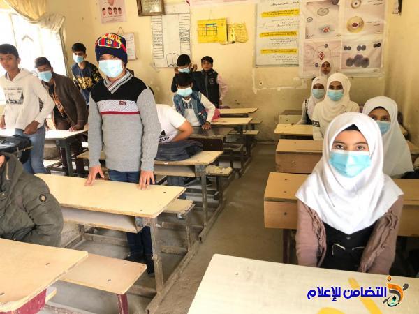 مبرة التضامن السابعة في قضاء الرفاعي تنظم دورات التقوية لتلاميذها