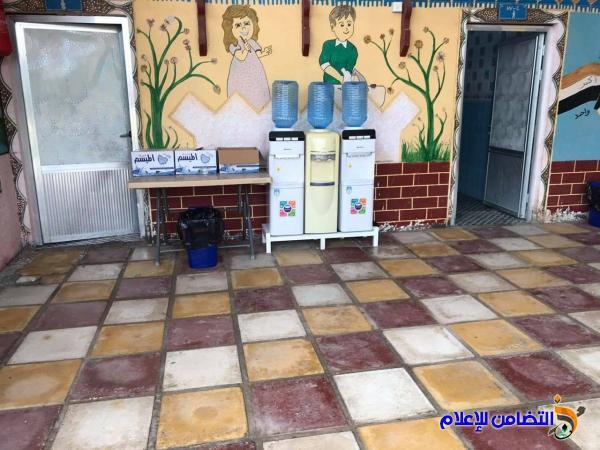 مدارس التضامن للأيتام في ذي قار تقرع أجراسها إيذانا ببدء العام الدراسي الجديد2020/2021