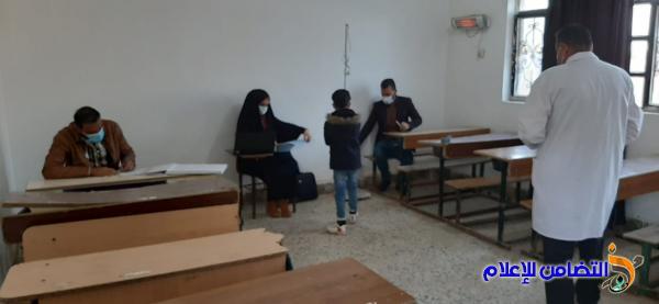 وفد من مركزالشهيد وائل الصحي يزور مبرة التضامن الثانية للأيتام في النصر